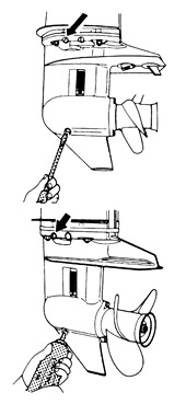 как поменять масло в лодочном моторе ветерок 8